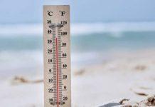 Στους 35,6 βαθμούς Κελσίου σκαρφάλωσε ο υδράργυρος