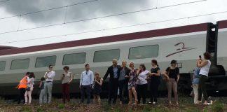 Ευρωβουλευτές εγκλωβίστηκαν για ώρες στο τρένο προς το Στρασβούργο