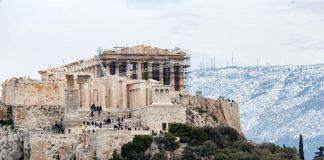 Ακρόπολη:«Πόρτα» σε τουρίστριες λόγω αρχαιοελληνικής ενδυμασίας (pic)