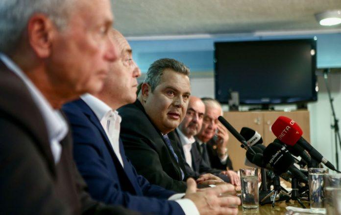 Αποφασίζουν για τη Συμφωνία των Πρεσπών οι ΑΝΕΛ