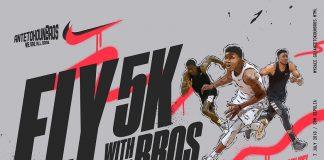 Antetokounbros 5K Run για την «Κιβωτό του Κόσμου»