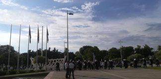 Συνελήφθησαν οι προσαχθέντες των επεισοδίων της Θεσσαλονίκης για το Σκοπιανό