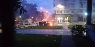 Θεσσαλονίκη: Έκαψαν κάδους σε ΑΠΘ και Κορδελιό