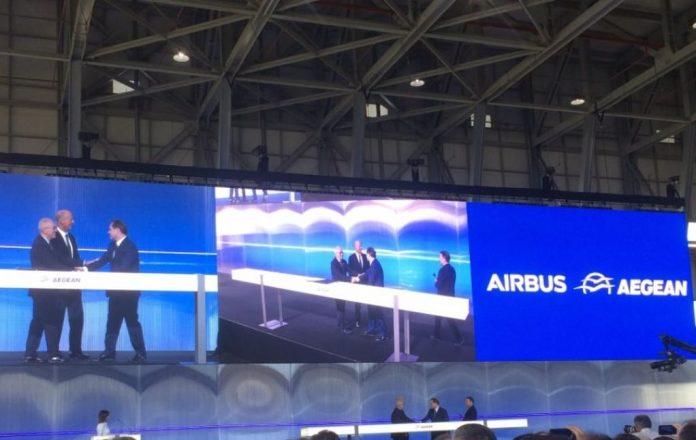 Έκλεισε το deal της Aegean με την Αirbus