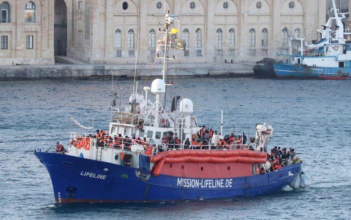 Διάσωση 85 μεταναστών από μαλτέζικο σκάφος