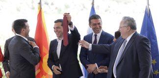 «Όχι» στη συμφωνία λέει το 54,1% των Σκοπιανών