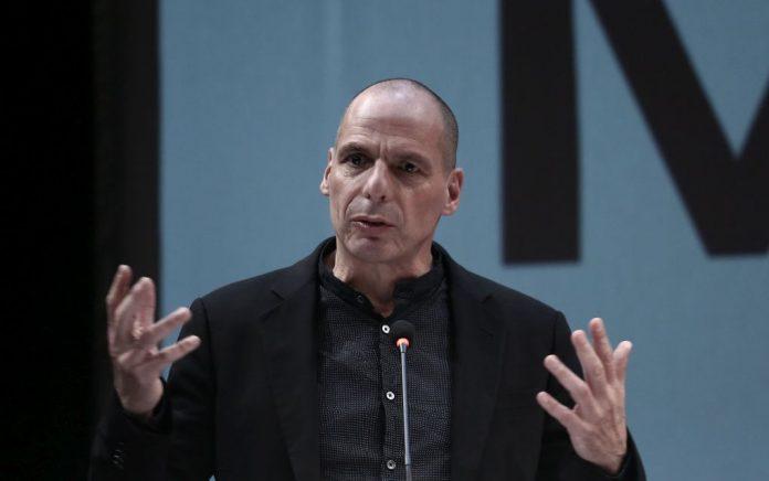 """Βαρουφάκης: «""""Ναι"""" σε συνεργασία και με ΝΔ και ΣΥΡΙΖΑ» (vd)"""