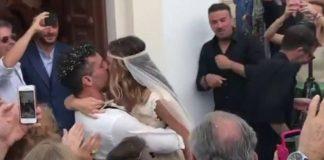Άρωμα… Survivor στο γάμο του Χρανιώτη στην Τήνο (pics, vd)