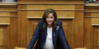 Μπακογιάννη: «Η Ελλάδα στην τελευταία θέση της Ευρώπης στις επενδύσεις το 2018»