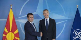 Το ΝΑΤΟ «έτοιμο να καλωσορίσει τη Βόρεια Μακεδονία»