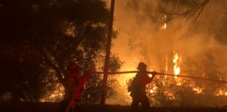 H πυροσβεστική πέρασε χειροπέδες σε 30 εμπρηστές