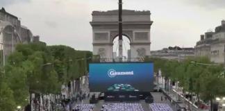 Η Λεωφόρος των Ηλυσίων Πεδίων στο Παρίσι έγινε ένα τεράστιο σινεμά!
