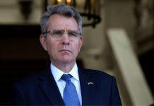 Τζέφρι Πάιατ: «Να σταματήσει η Τουρκία τις προκλητικές ενέργειες»
