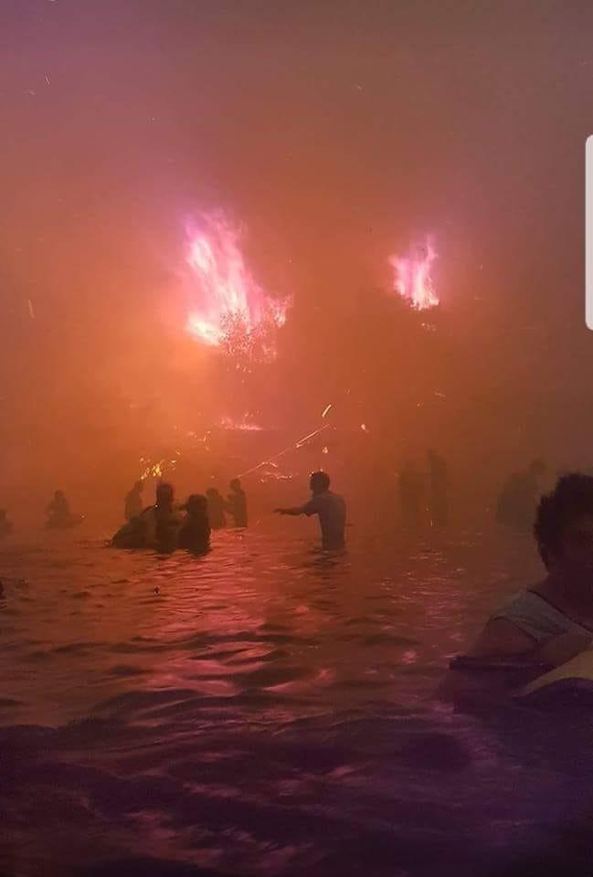 Όλη η φρίκη της πυρκαγιάς σε μία φωτογραφία