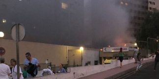 Συγγενής ασθενούς που δεν εξυπηρετούνταν έβαλε φωτιά σε νοσοκομείο! (vds)