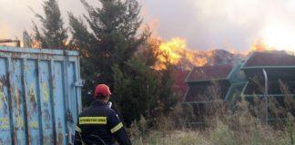 Πολύ υψηλός κίνδυνος πυρκαγιάς την Κυριακή
