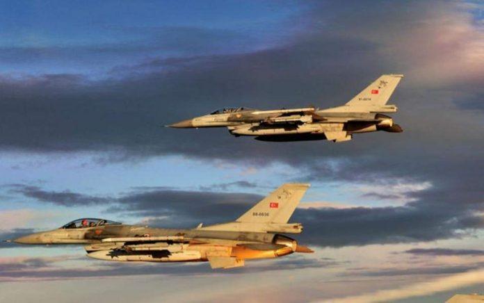 Τουρκικές παραβιάσεις στο Αιγαίο με οπλισμένα μαχητικά