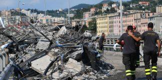 Οι κάτοικοι της Γένοβας τίμησαν τα θύματα της γέφυρας Μοράντι