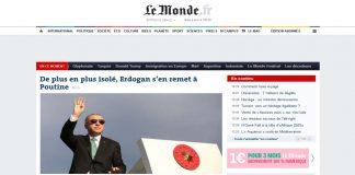 Le Monde: «Απομονωμένος ο Ερντογάν καταφεύγει στον Πούτιν»