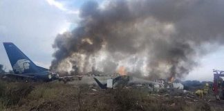 Μεξικό: 85 τραυματίες από συντριβή αεροπλάνου