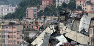 Συγκλονιστικό video: Η στιγμή που πέφτει η γέφυρα στη Γένοβα (vd)