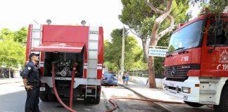 Λάρισα: Φωτιά σε κατοικία όπου έμεινε ηλικιωμένη