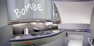 Χανιά: Η απειλή για βόμβα στο αεροπλάνο ήταν γραμμένη με... σαπούνι (pics)
