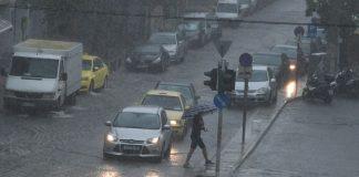 """""""Έβρεξε"""" προβλήματα στη Θεσσαλονίκη"""