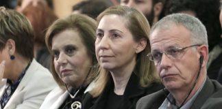 Ξενογιαννακοπούλου: Τα σχέδια της ΝΔ για ιδιωτικοποιήσεις θα φέρουν απολύσεις «Ο ΣΥΡΙΖΑ να στραφεί προς τα αριστερά και τα δεξιά του»ούλου: «Συνεχίζουμε τον αγώνα μας για τους πολλούς»