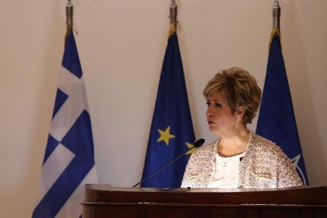 Την έναρξη του 2ου Συνεδρίου Χερσαίων Δυνάμεων κήρυξε η Μ.Κόλλια-Τσαρουχά