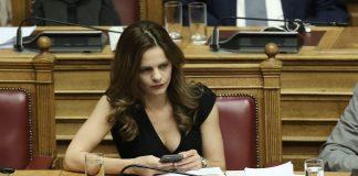Αχτσιόγλου: «Η ΝΔ αρνείται κάθετα τη διεξαγωγή ντιμπέιτ»