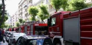 Συναγερμός στο κέντρο της Πάτρας: Ξέσπασε φωτιά σε διαμέρισμα (vds)