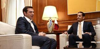 Οι επενδύσεις από το Κατάρ στο επίκεντρο της συνάντησης Τσίπρα – Αλ Θανί
