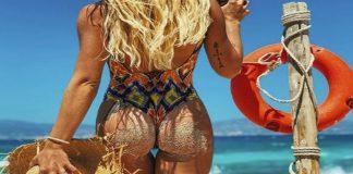 Η Ζοζεφίν «έριξε» το Instagram με το «καυτό» της σορτσάκι (vd)