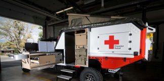 Nissan και Ερυθρός Σταυρός δημιούργησαν από κοινού κινητή μονάδα
