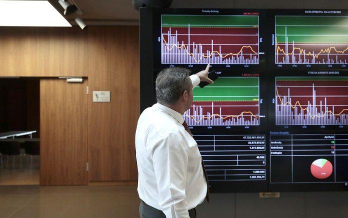 Χρηματιστήριο: Πτώση 0,32% με πιέσεις σε Μυτιληναίο