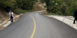 Αποκατάσταση ζημιών σε επαρχιακή οδό στην Πέλλα