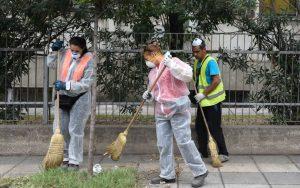 Επιχείρηση-σκούπα σε εγκαταλελείμμενο κτίριο στην οδό Γιαννιτσών (pics)