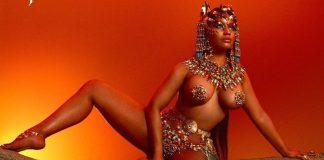 Τα... πέταξε όλα στο εξώφυλλο του άλμπουμ της η Νίκι Μινάζ! (pics)