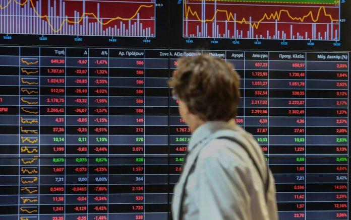 Πτώση 0,91% στην Αθήνα εν μέσω ανησυχιών στην Ευρώπη