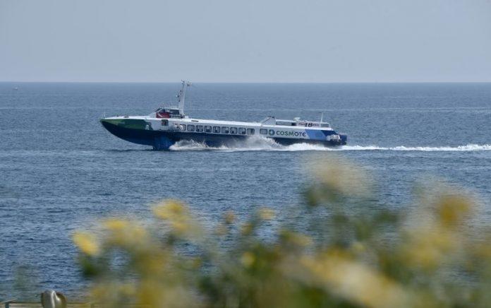 Μηχανική βλάβη για το Flying Dolphin XVII