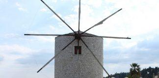 Κέρκυρα: Οι άνεμοι έσπασαν ακτίνες του Ανεμόμυλου της Γαρίτσας