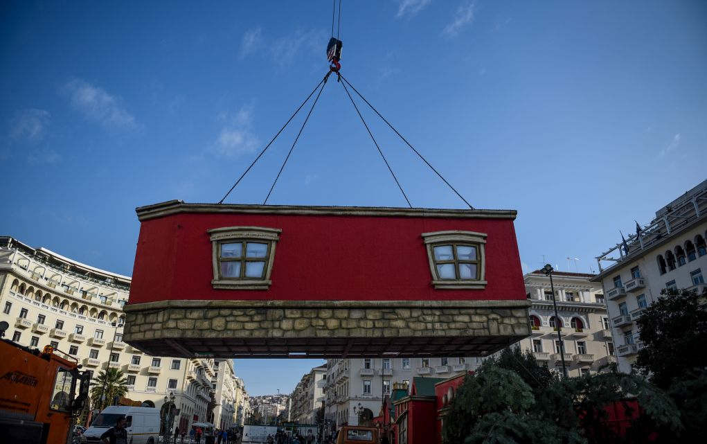Σε κλίμα Χριστουγέννων μπαίνει η Θεσσαλονίκη