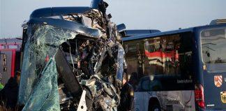 Γερμανία: Τροχαίο ατύχημα στη Βαυαρία με 40 τραυματίες