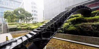 Γέφυρα από ρητίνη με τη μέθοδο τρισδιάστατης εκτύπωσης στη Σανγκάη