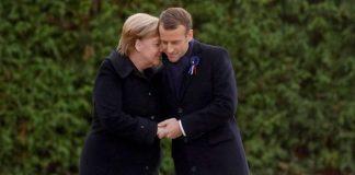 Αλλαγή στάσης Μακρόν έναντι Μέρκελ ενόψει ευρωεκλογών