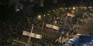 Πέντε χιλιάδες αστυνομικοί, drones και ελικόπτερο