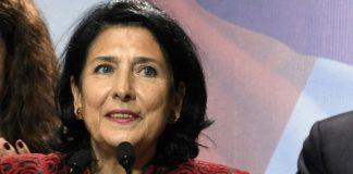 Νέα πρόεδρος της Γεωργίας η Ζουραμπισβίλι