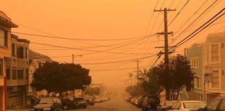 Πνίγηκε στον καπνό το Σαν Φρανσίσκο από τις πυρκαγιές στην Καλιφόρνια