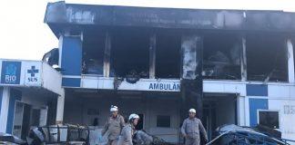 Τρεις νεκροί από πυρκαγιά σε νοσοκομείο του Ρίο ντε Ζανέιρο (vd)